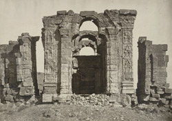 Kashmir. Temple of Marttand or the Sun. View looking east. Probable date A.D. 490-555
